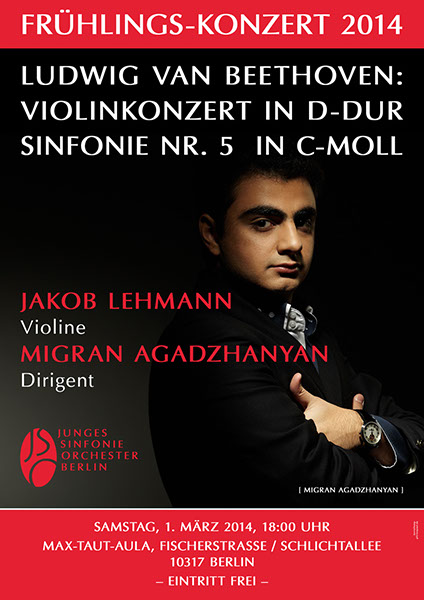 JSO Berlin Konzert am 01.03.2014