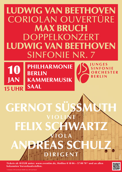 JSO Berlin Konzert am 10.01.2015